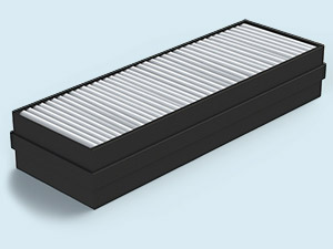 High-efficiency HEPA filter H11